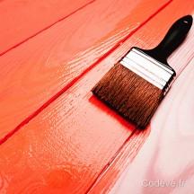 appliquer la peinture laque bois sur une lasure cod ve bois. Black Bedroom Furniture Sets. Home Design Ideas