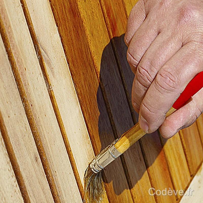 Saturateur bois teck cod ve bois - Peinture pour teck ...